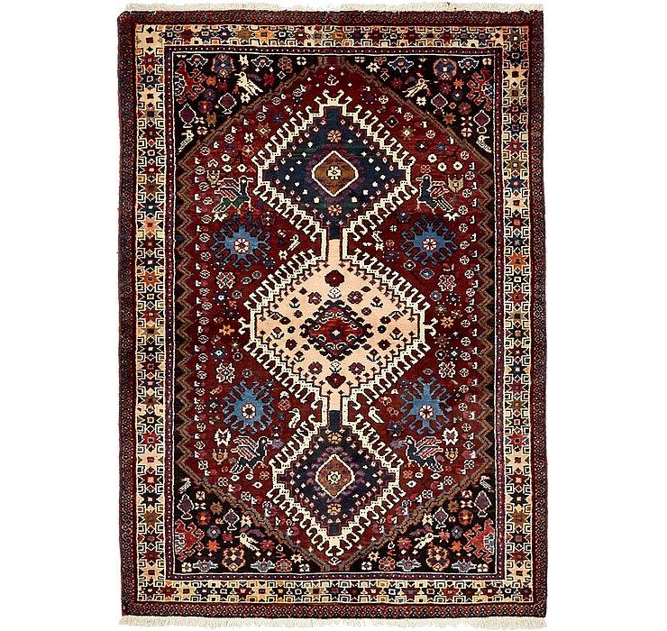 107cm x 152cm Yalameh Persian Rug