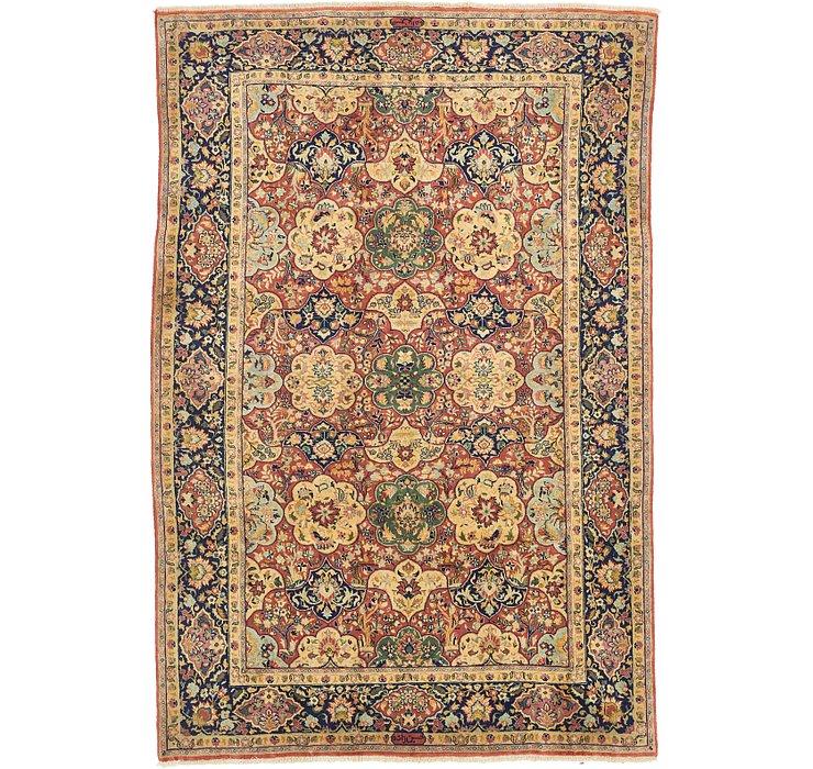 6' 6 x 9' 8 Yazd Persian Rug