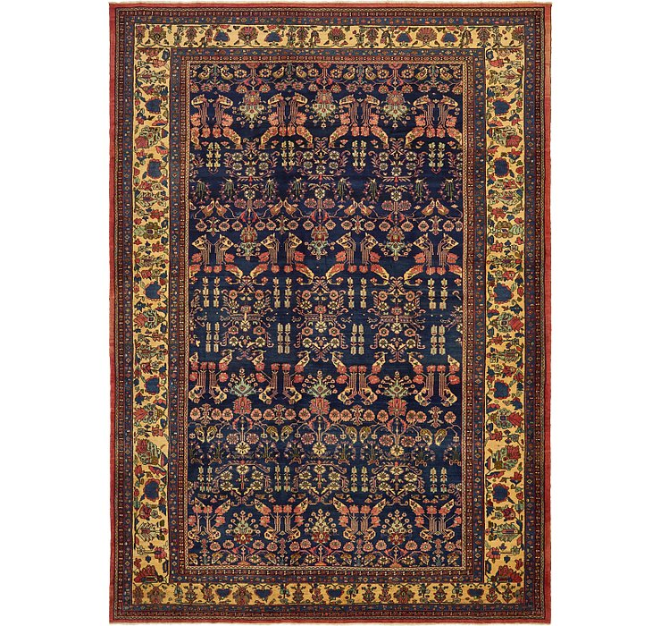 385cm x 535cm Bakhtiar Persian Rug