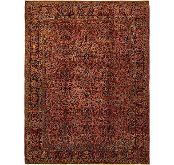 9' 8 x 12' 7 Kerman Persian Rug