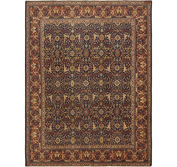 9' 2 x 12' Sarough Persian Rug