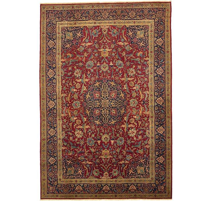 11' x 16' 6 Kashan Persian Rug