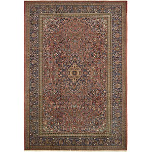 HandKnotted 9' x 12' 10 Kashan Persian Rug