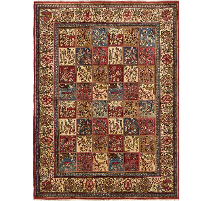 9' x 12' Sarough Persian Rug
