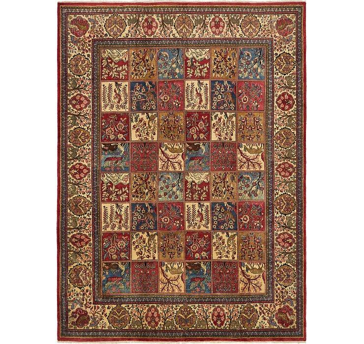 9' x 12' Sarough Persian Rug