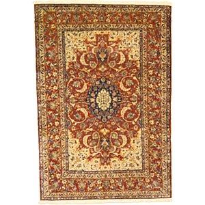 5' x 7' 3 Isfahan Persian Rug