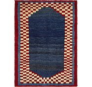 Link to 4' 7 x 6' 5 Shiraz-Gabbeh Persian Rug