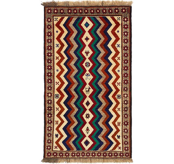3' 6 x 6' 3 Ghashghaei Persian Rug