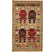 Link to 3' 10 x 6' 3 Ghashghaei Persian Rug