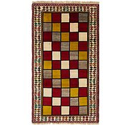 Link to 3' 10 x 6' 9 Shiraz-Gabbeh Persian Rug
