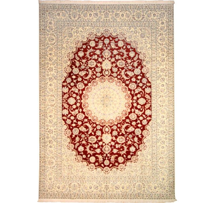 8' 2 x 11' 9 Nain Persian Rug