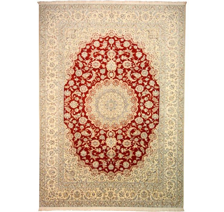 8' 2 x 11' 5 Nain Persian Rug