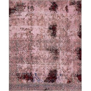 HandKnotted 6' 6 x 8' Ultra Vintage Persian Rug