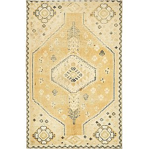 4' 9 x 7' 2 Ultra Vintage Persian ...