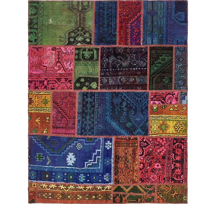 163cm x 210cm Ultra Vintage Persian Rug