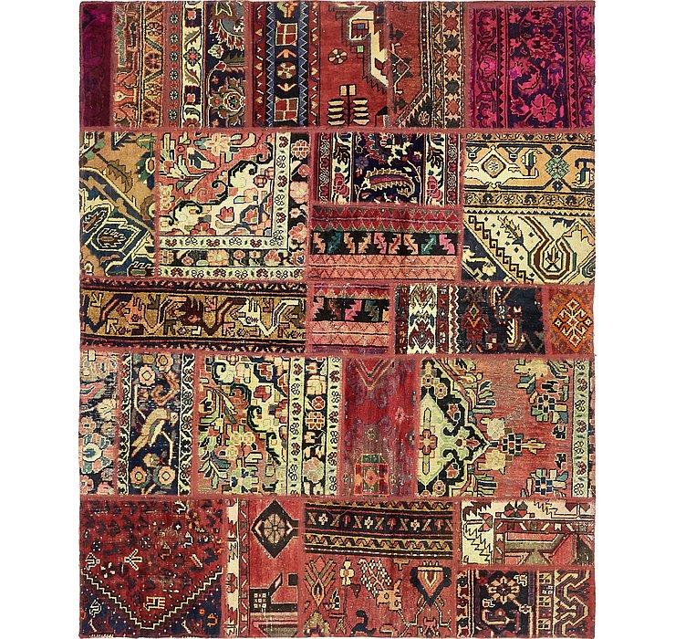 5' 7 x 6' 10 Ultra Vintage Persian Rug
