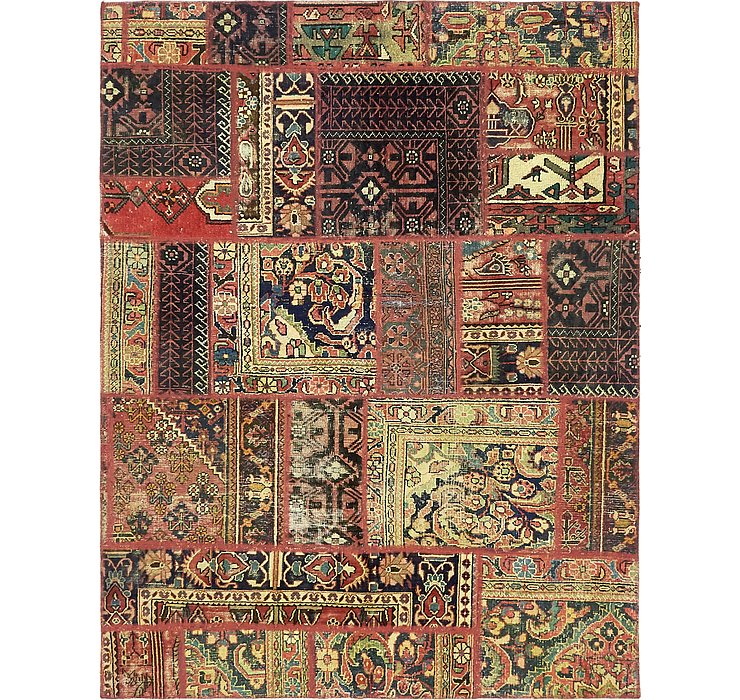 163cm x 208cm Ultra Vintage Persian Rug