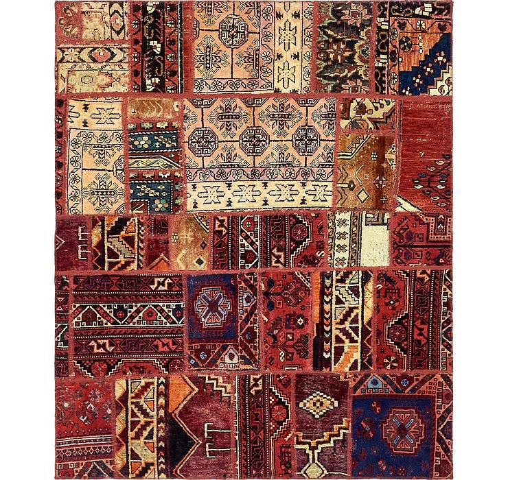 163cm x 195cm Ultra Vintage Persian Rug