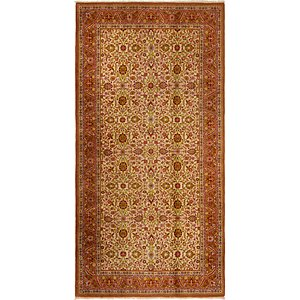 4' x 8' Isfahan Persian Rug