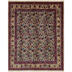 Unique Loom 11' 2 x 14' Mashad Persian Rug
