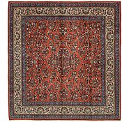 Link to 10' 2 x 11' Sarough Persian Square Rug