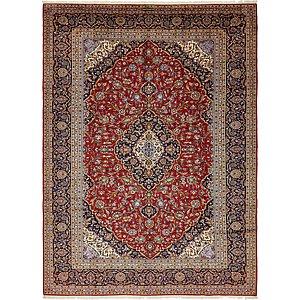 10' x 13' 10 Kashan Persian Rug