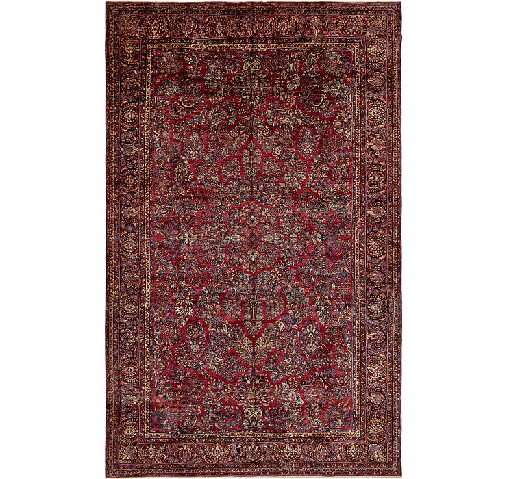 11' 9 x 19' Sarough Persian Rug