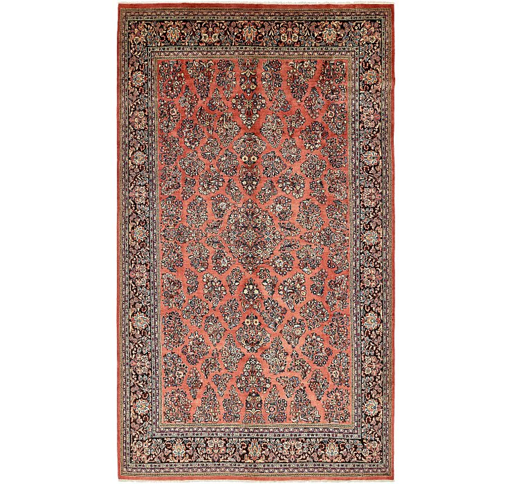 9' x 15' 8 Sarough Persian Rug