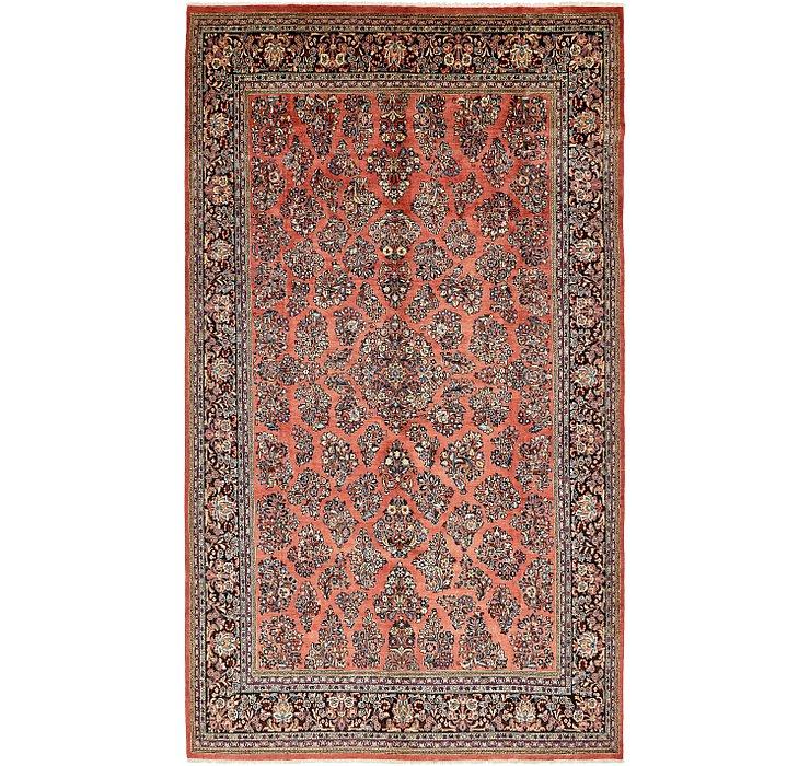 9' x 15' 8 Sarough Persian Rug