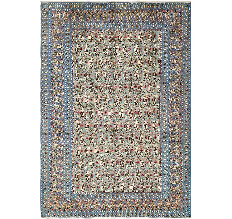 HandKnotted 8' 2 x 11' 10 Kashan Persian Rug