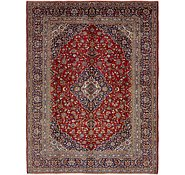 Link to 10' 9 x 14' 2 Kashan Persian Rug