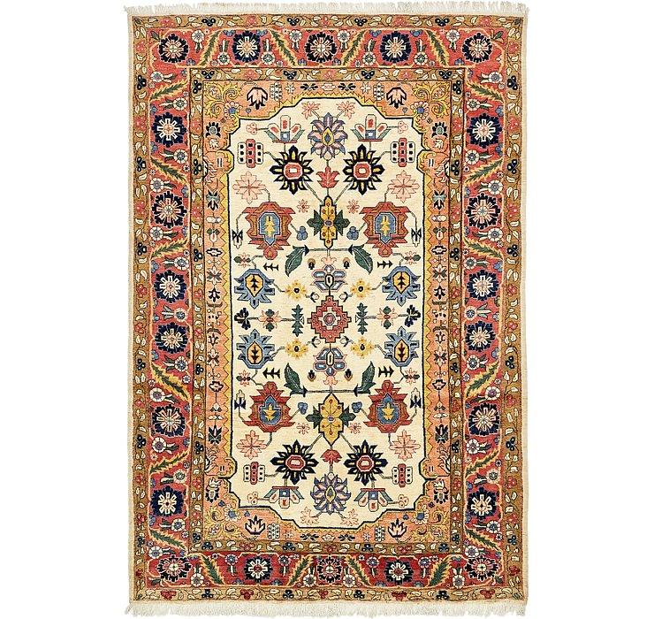 205cm x 312cm Meshkabad Persian Rug