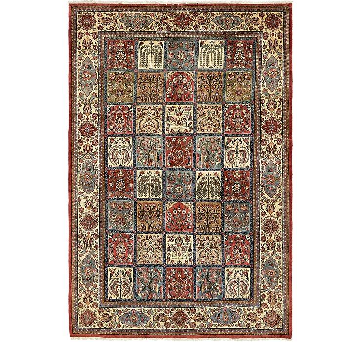 7' 2 x 11' Sarough Persian Rug