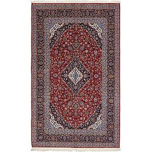 6' 7 x 12' 2 Kashan Persian Runner Rug