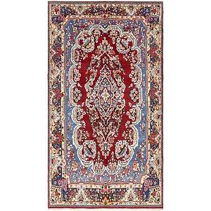 6u0027 7 X 11u0027 8 Yazd Persian Rug