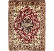 Link to 8' 2 x 11' 5 Tabriz Persian Rug