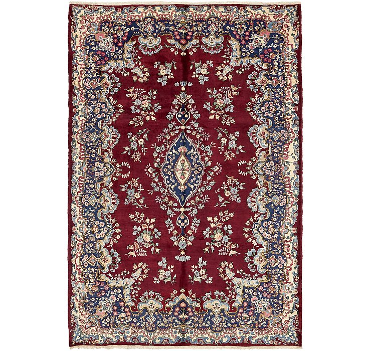 203cm x 297cm Yazd Persian Rug