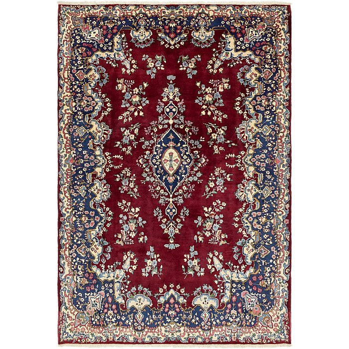 6' 10 x 9' 10 Yazd Persian Rug