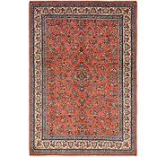 Link to 8' x 11' 7 Sarough Persian Rug