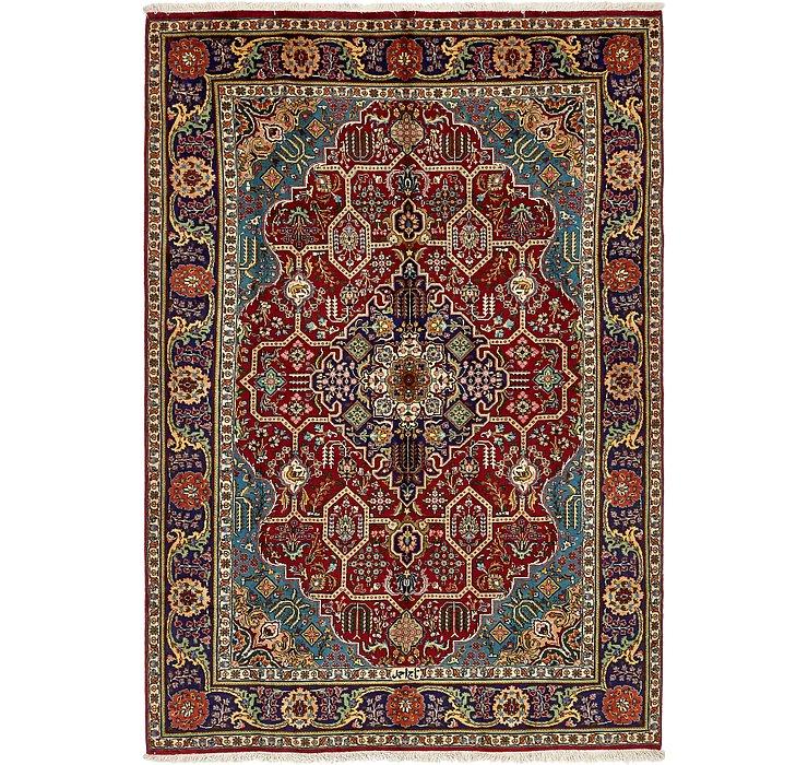 7' x 10' 5 Tabriz Persian Rug