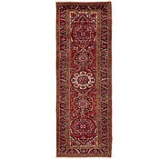 Link to 3' 10 x 11' 1 Heriz Persian Runner Rug