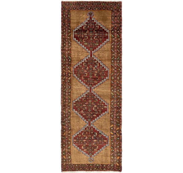 132cm x 385cm Zanjan Persian Runner Rug