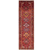 Link to 3' 7 x 12' Heriz Persian Runner Rug