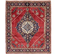 Link to 6' 5 x 7' 5 Kashan Persian Square Rug