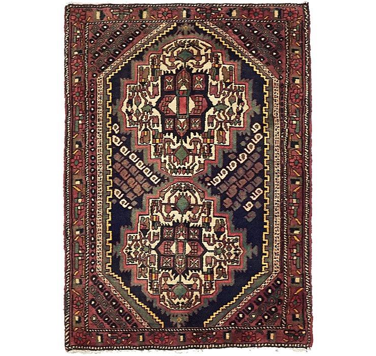 75cm x 102cm Sanandaj Persian Rug