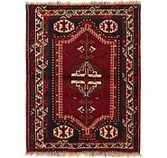 Link to 3' 8 x 4' 9 Shiraz Persian Rug