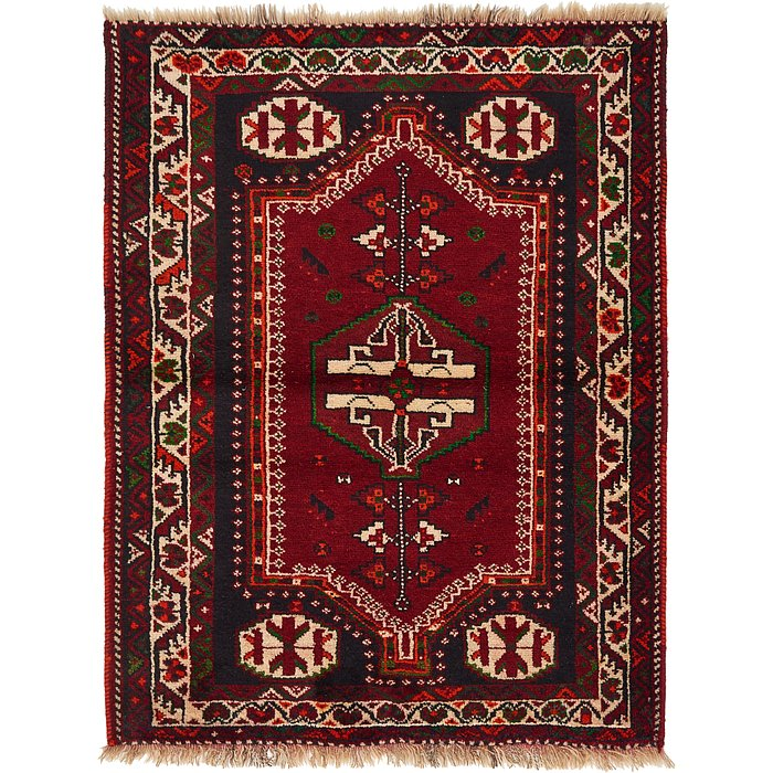 3' 8 x 4' 9 Shiraz Persian Rug
