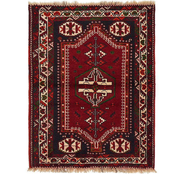 3' 8 x 4' 9 Shiraz Persian Rug