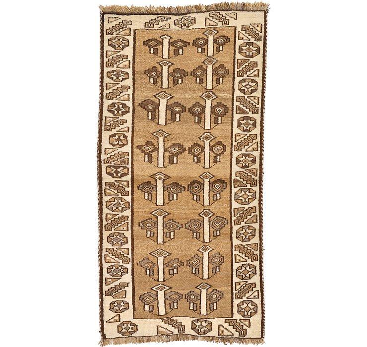 3' 1 x 6' 5 Shiraz-Gabbeh Persian Rug