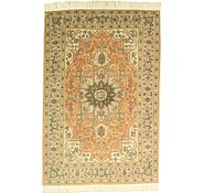 Link to 3' 5 x 5' 1 Tabriz Persian Rug